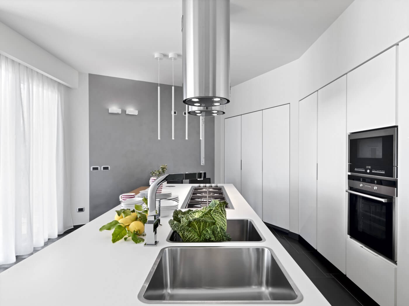 cucina con soluzioni ecocreative