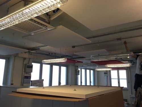 Isolamento acustico soffitto a Torino