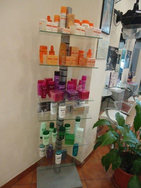 Piccolo corner con prodotti Kerastase