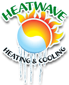 Heatwave heating & cooling logo