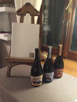 Tre bottiglie di vino, tre stili