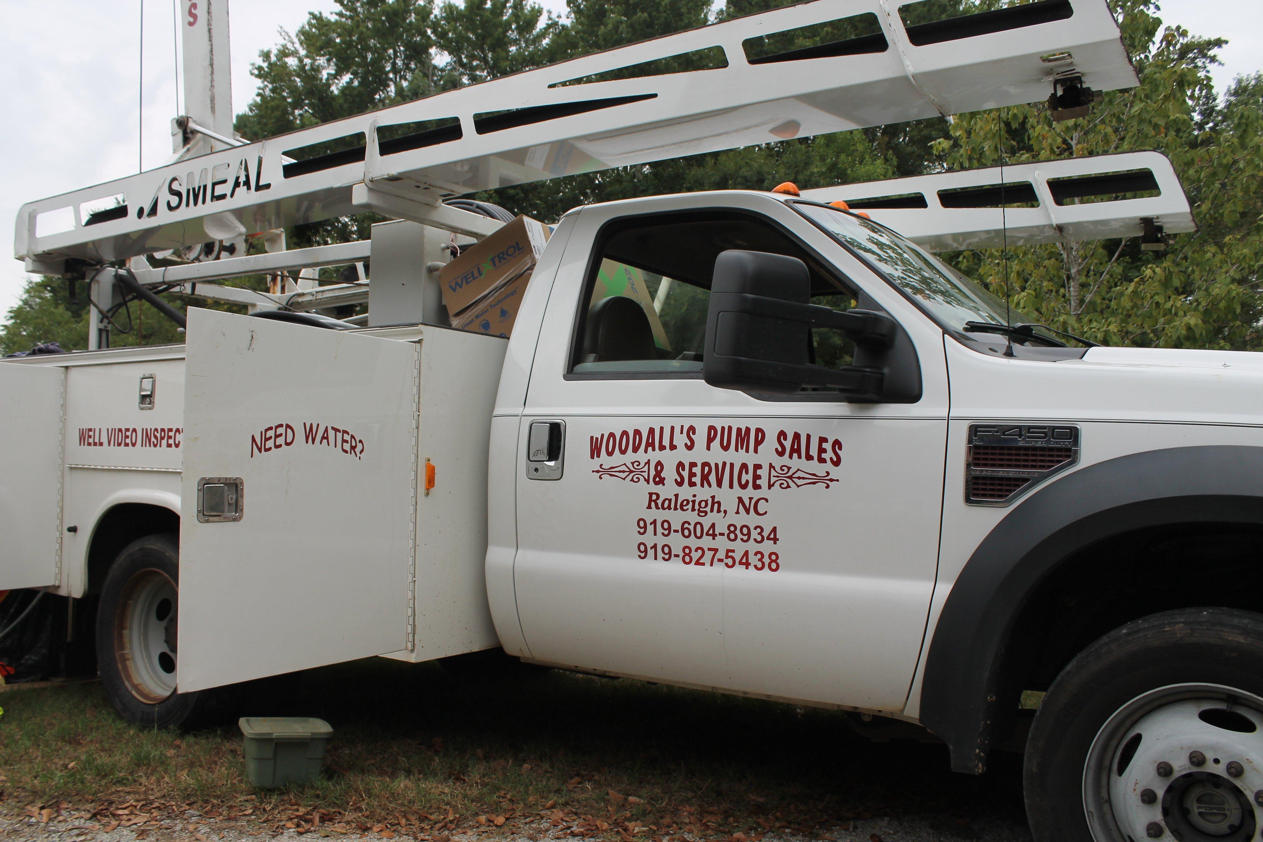 Woodall's Pump Sales truck