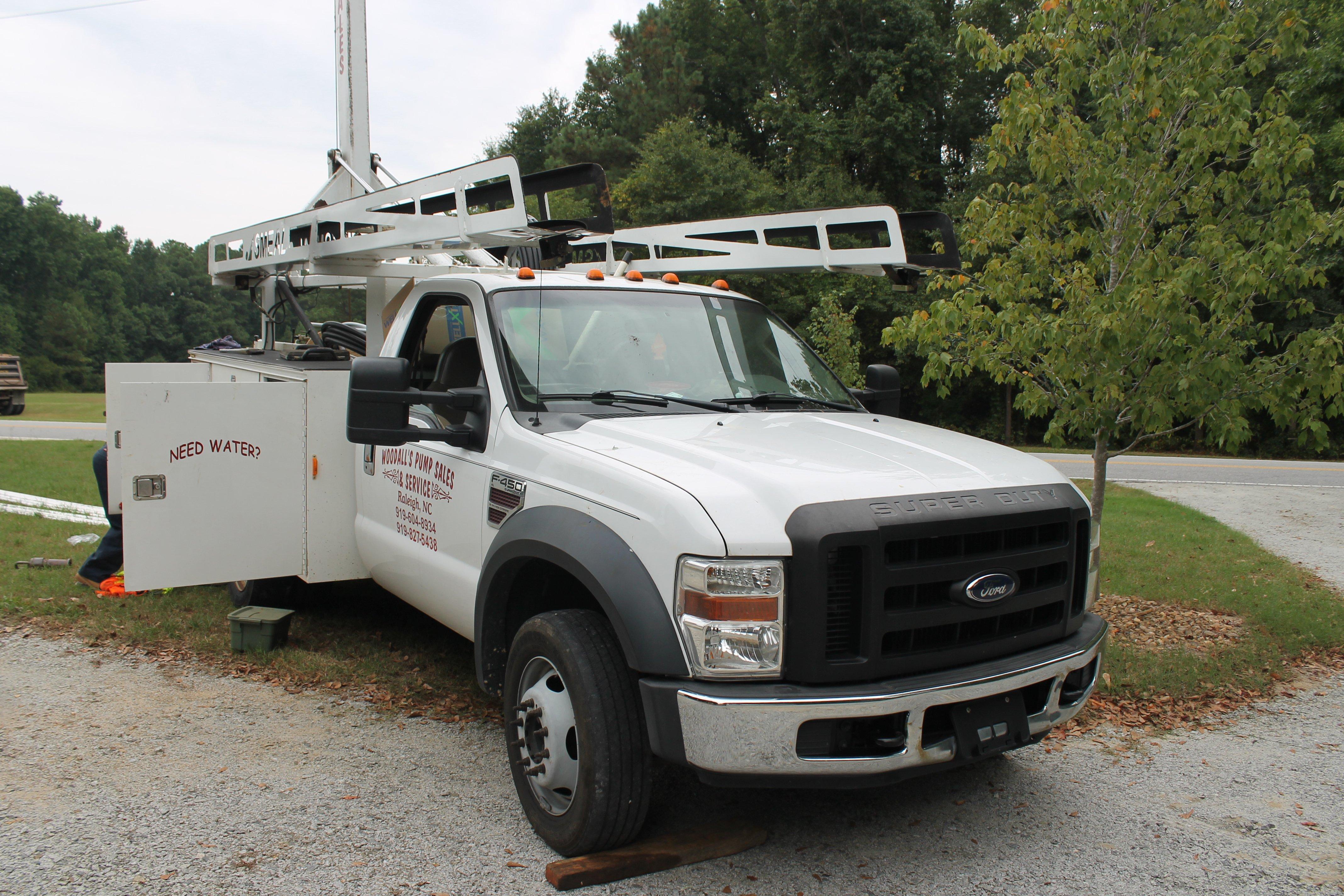 Woodall's truck