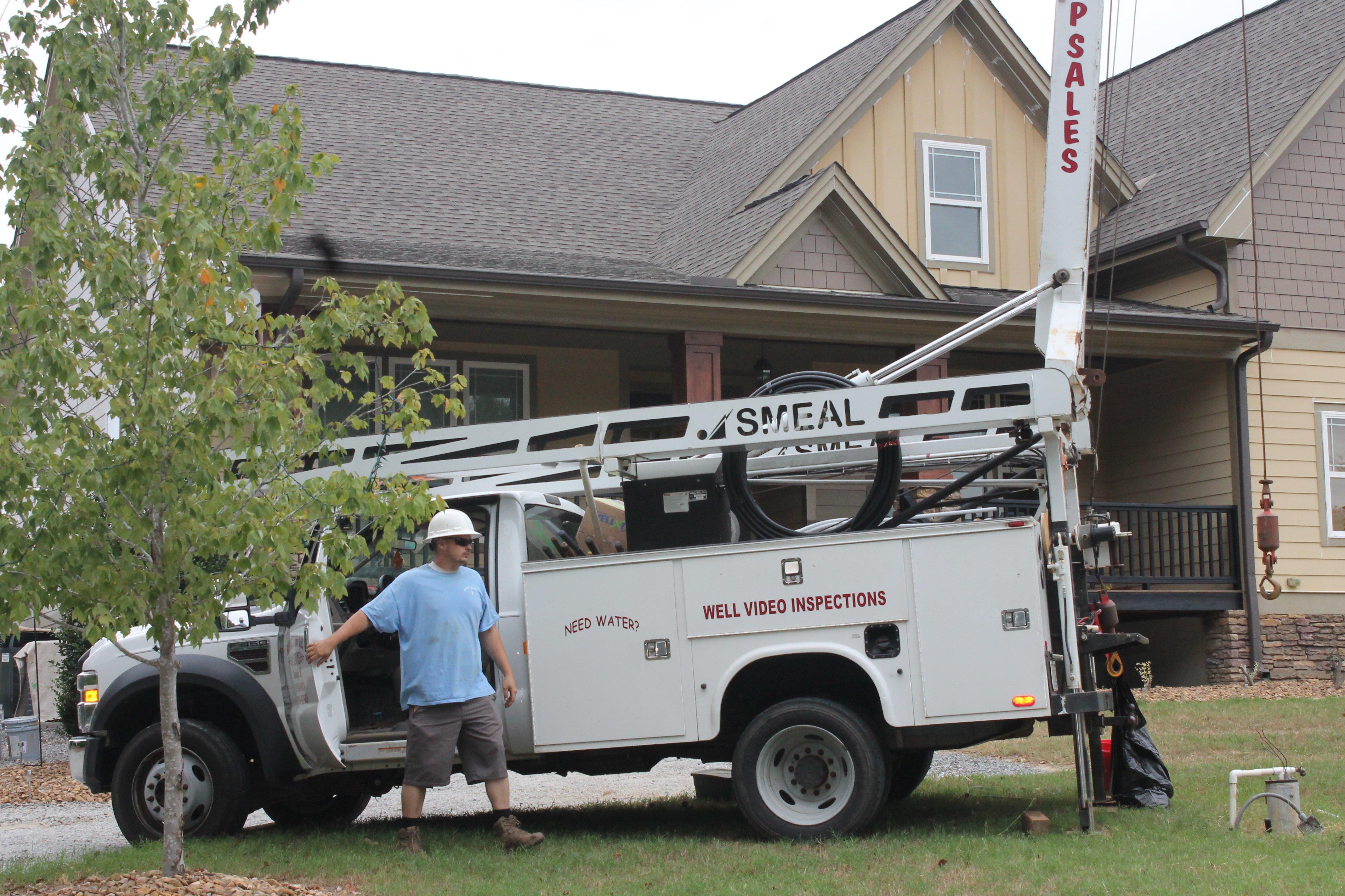 Woodall's Pump Sales & Service truck