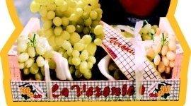 uva bianca, uva rossa, uva fresca