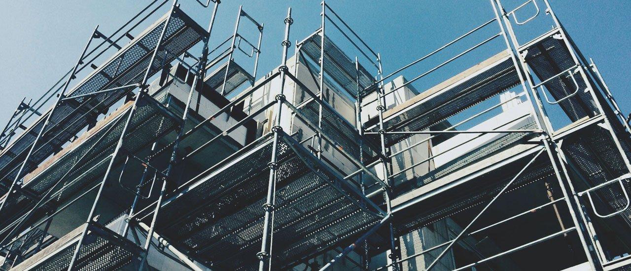 Scaffolding Upright Aluminum Scaffold Ladder Scaffolding