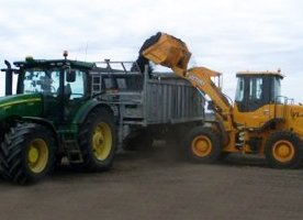 jigg ag contracting industrial loader