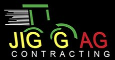 jigg ag contracting business logo