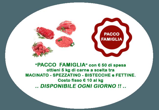 Pacco Famiglia Macelleria Aziendale Rosagiulia