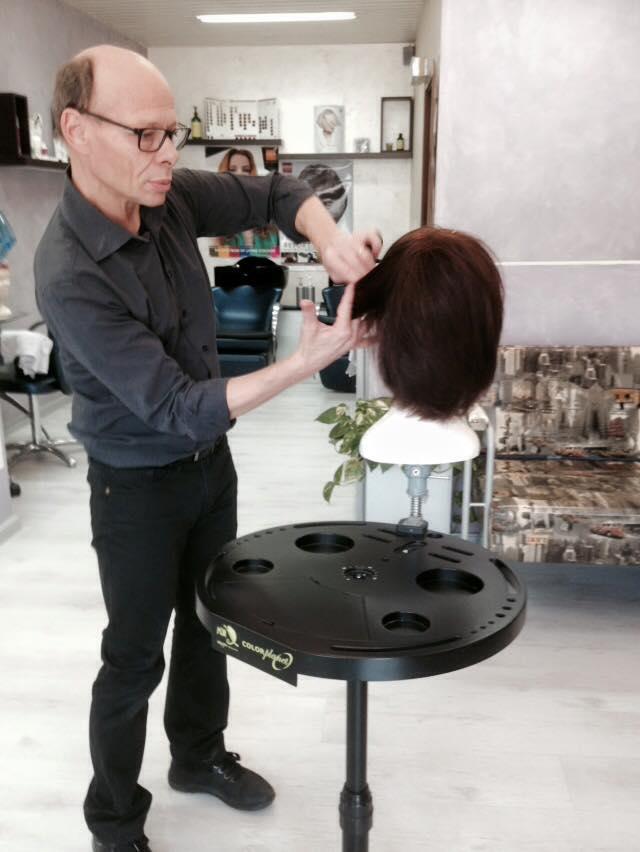 Preparando una parrucca