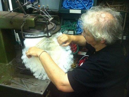 Creando una parrucca di capelli bianchi