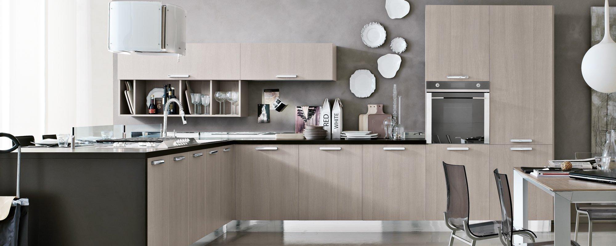 cucina moderna in legno - Milly