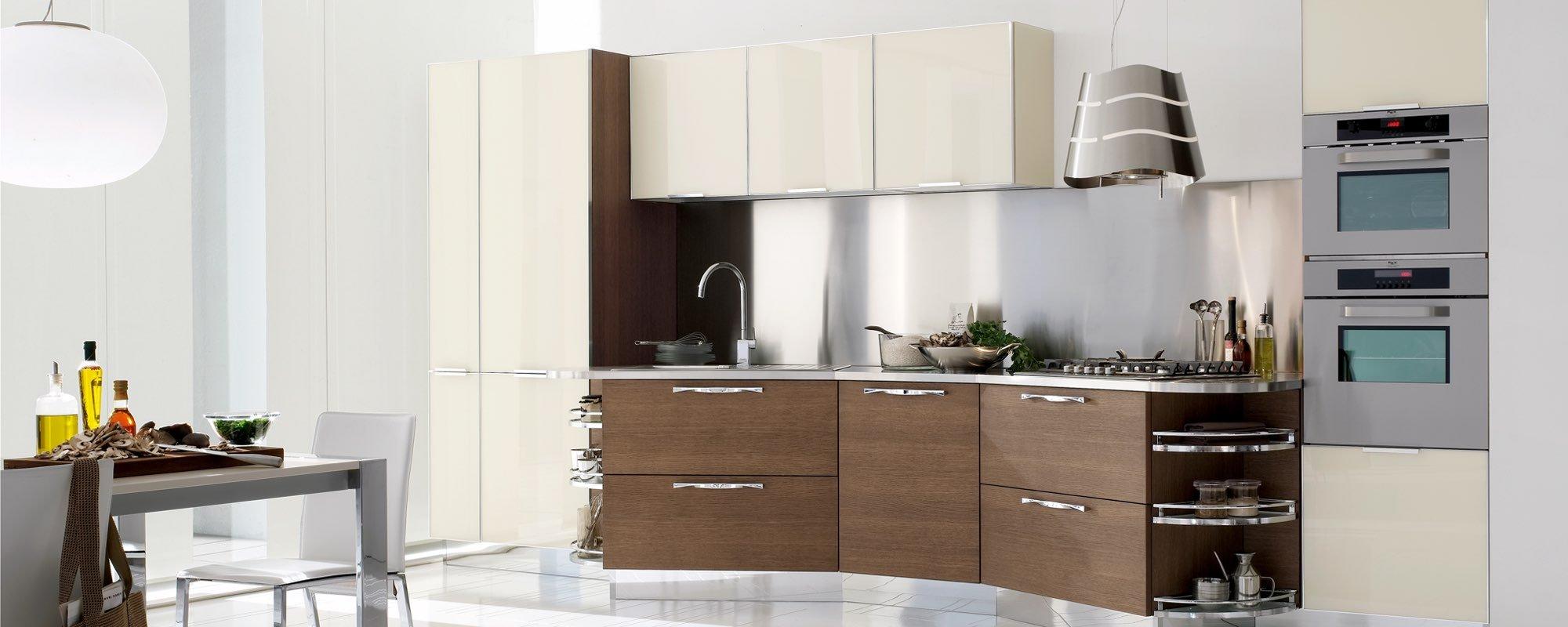 vista di mobili cucina casa moderna - Life