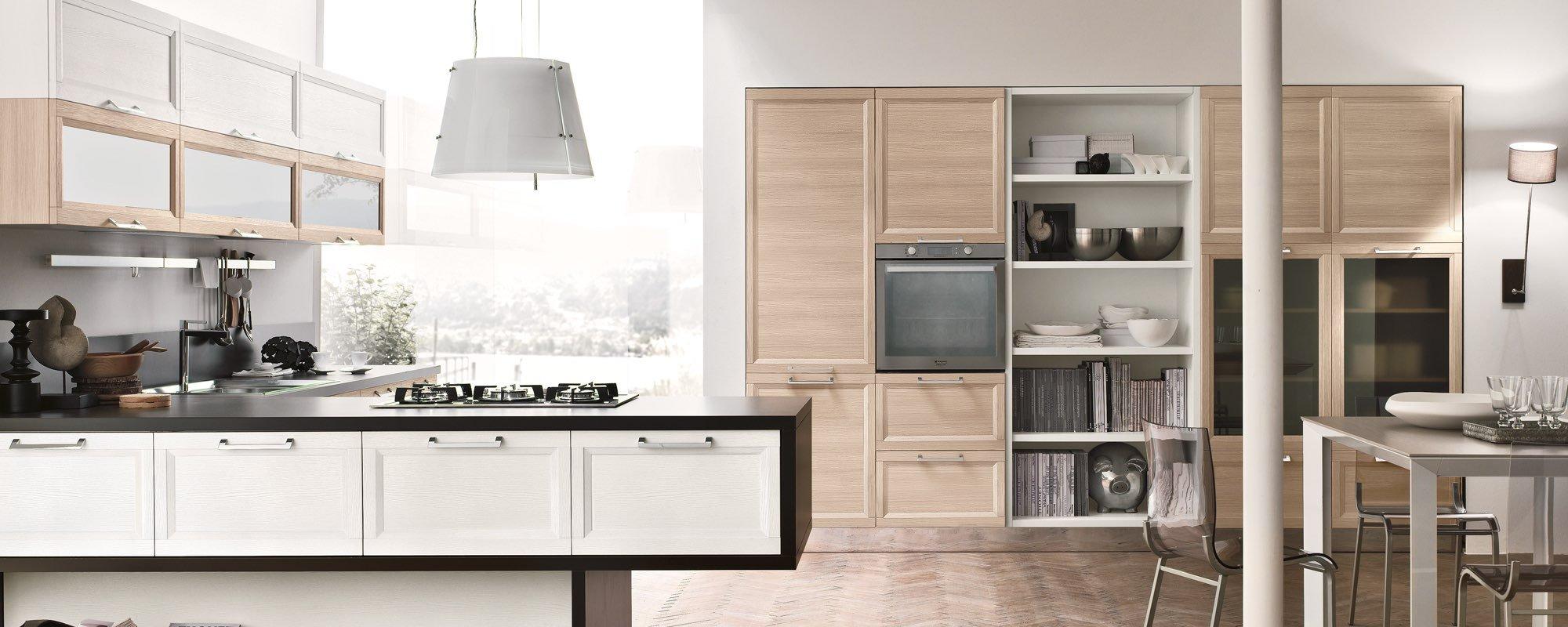 arredamento per modello di cucina moderna -Malibu