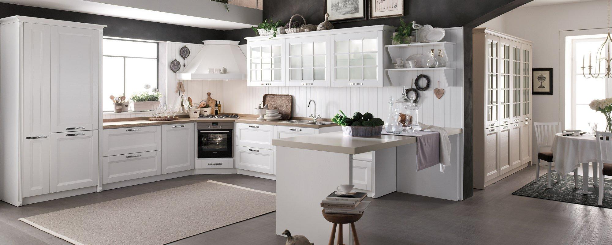 cucina bianca BEVERLY