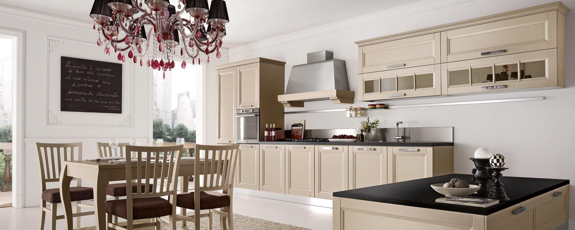 Cucina moderna in legno - BEVERLY