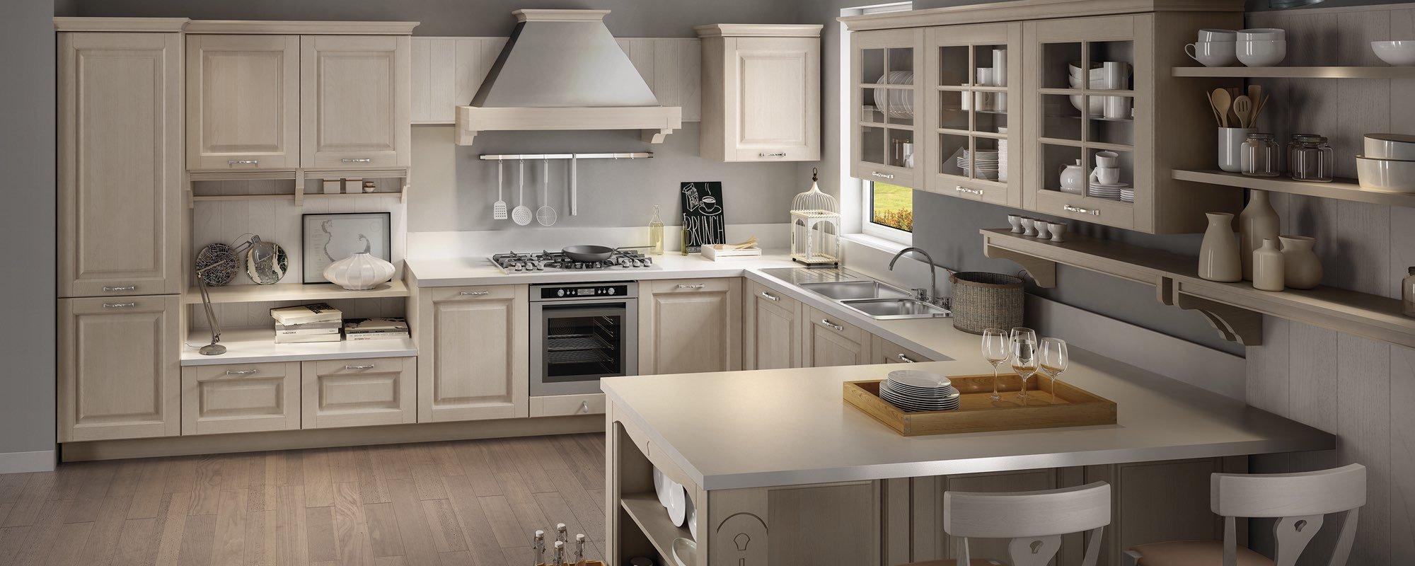cucina stosa classica - modello cucina bolgheri