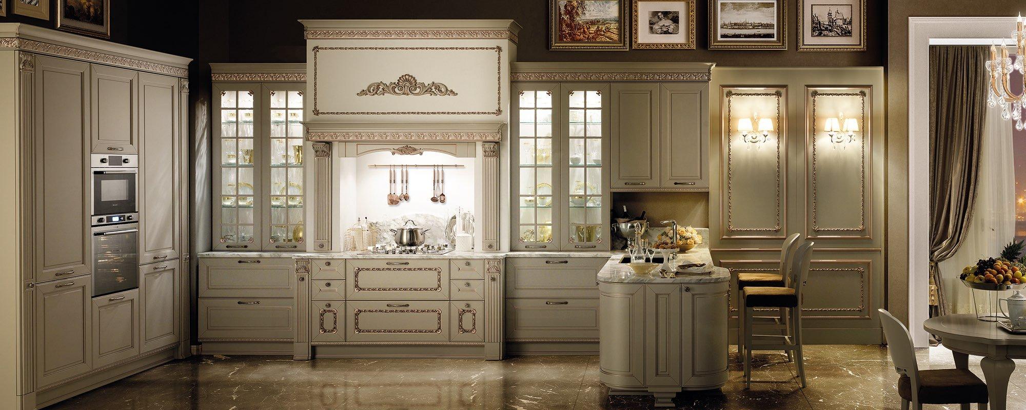 vista frontale di una cucina stosa -Dolcevita