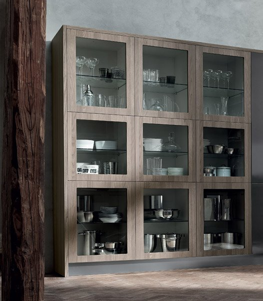 vetrina di cucina moderna-MOOD