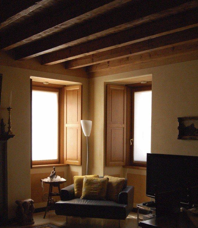 interno e salotto