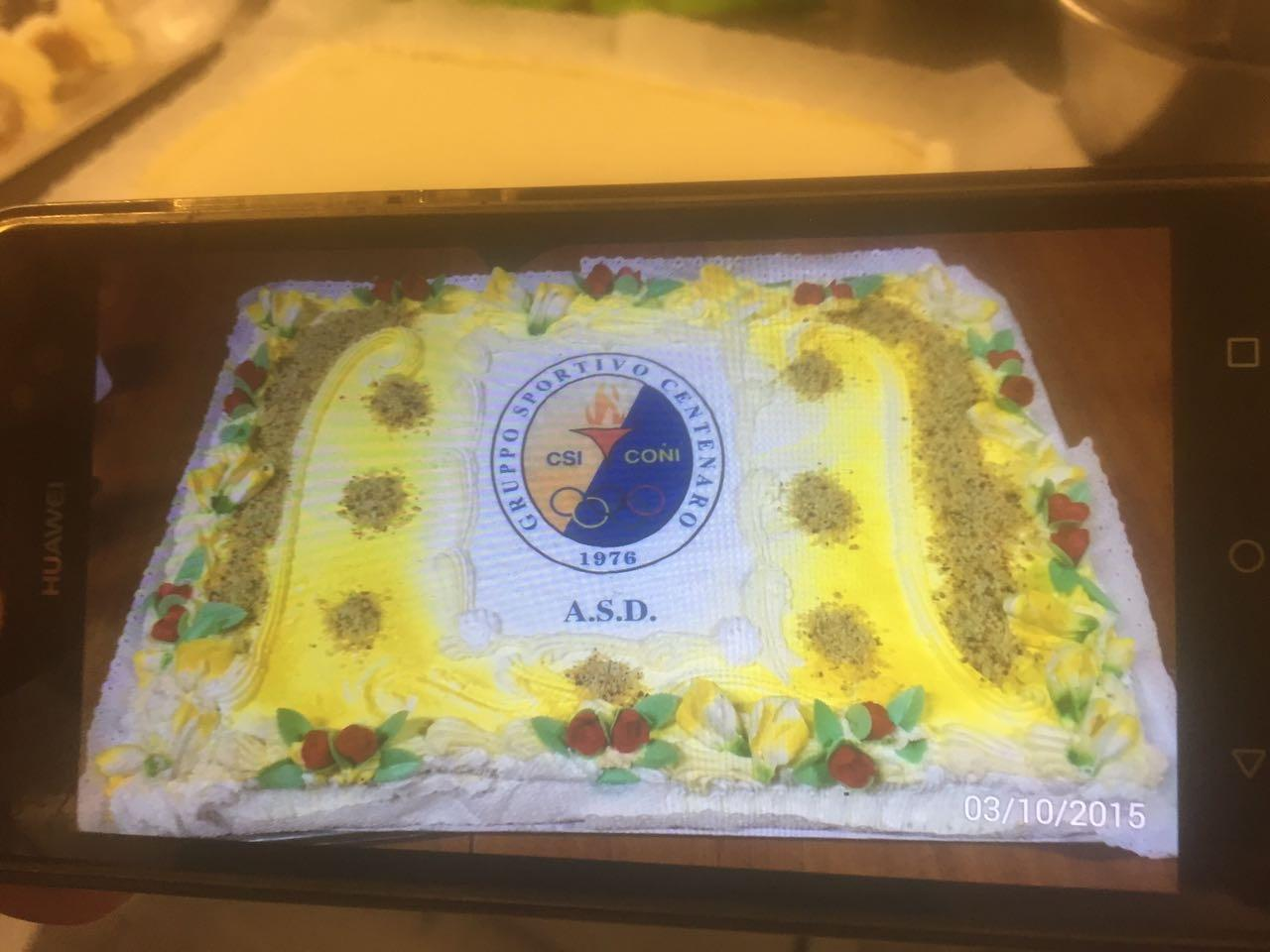 Torta CONI