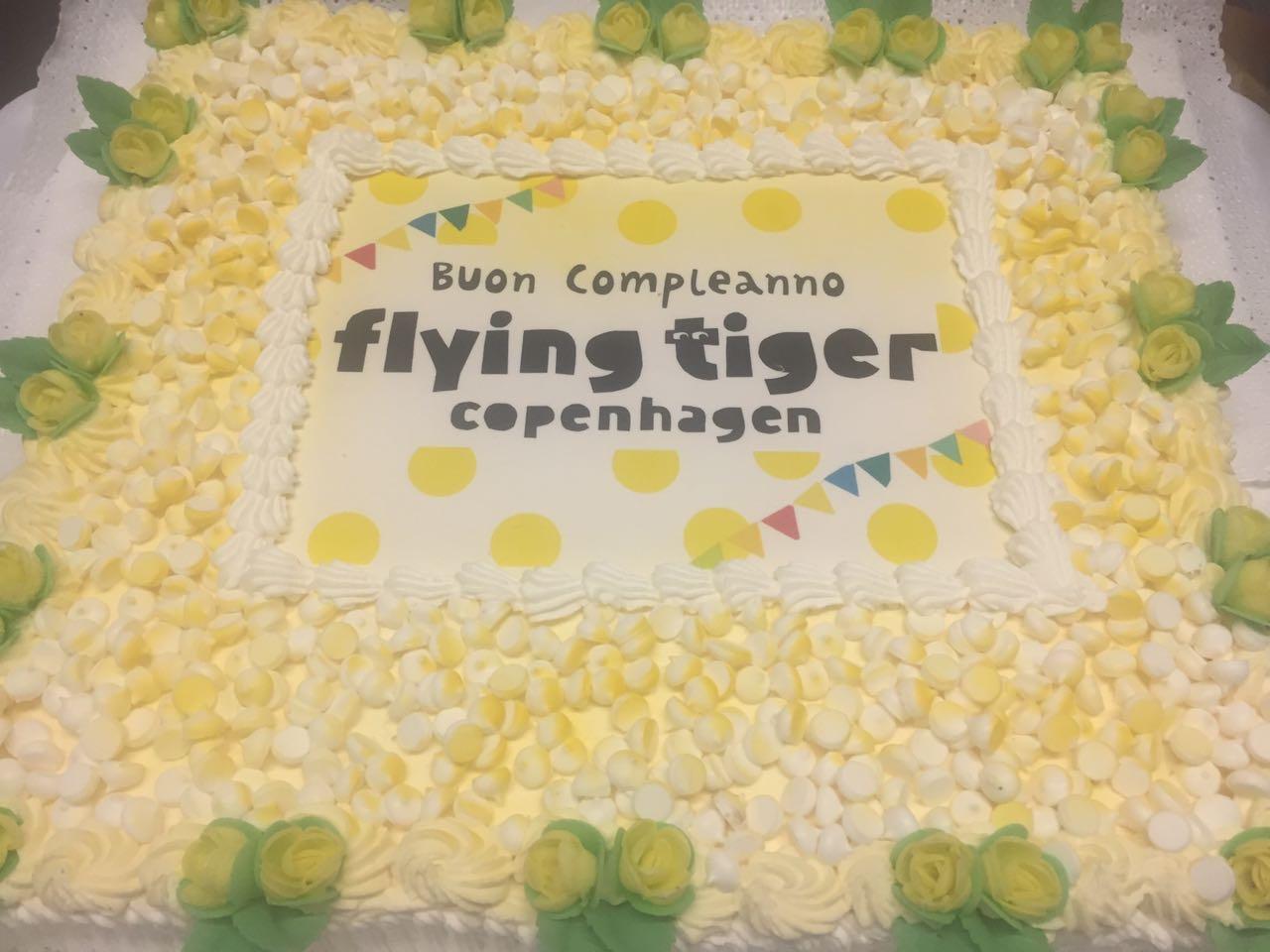Torta Flying Tiger