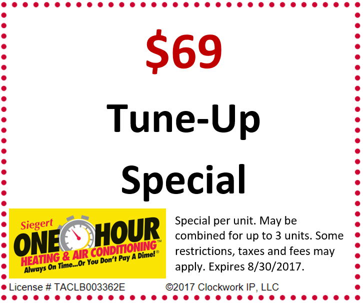 $69 Tune-Up Special