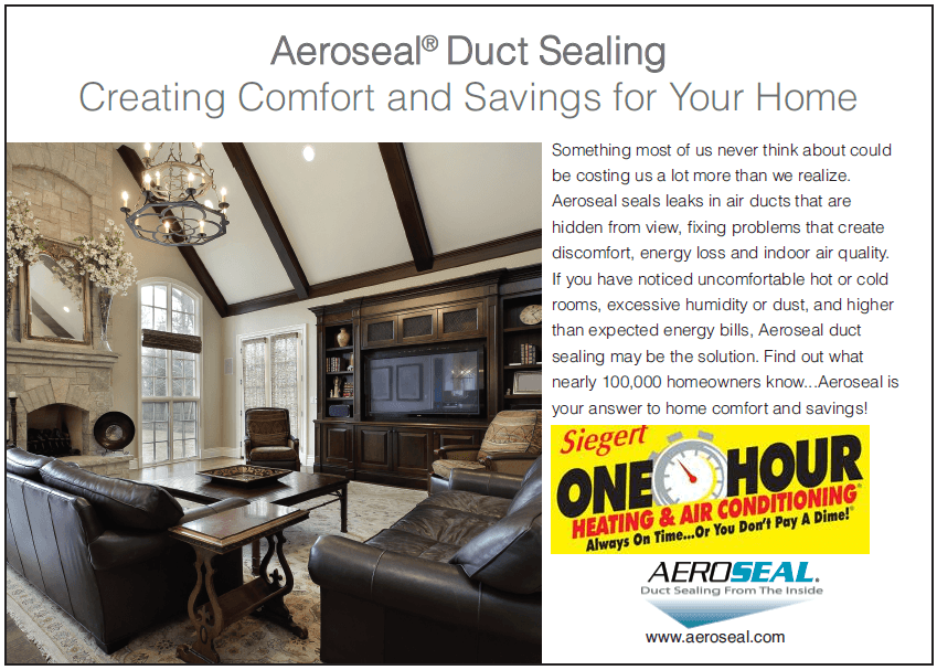 Aeroseal Duct Sealing in Bryan, TX