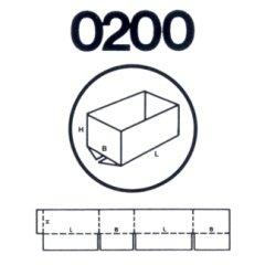 scatola modello 200