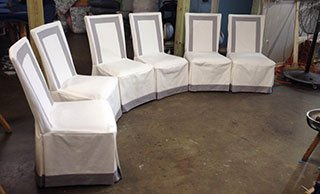 commercial upholstery repair Raleigh, NC