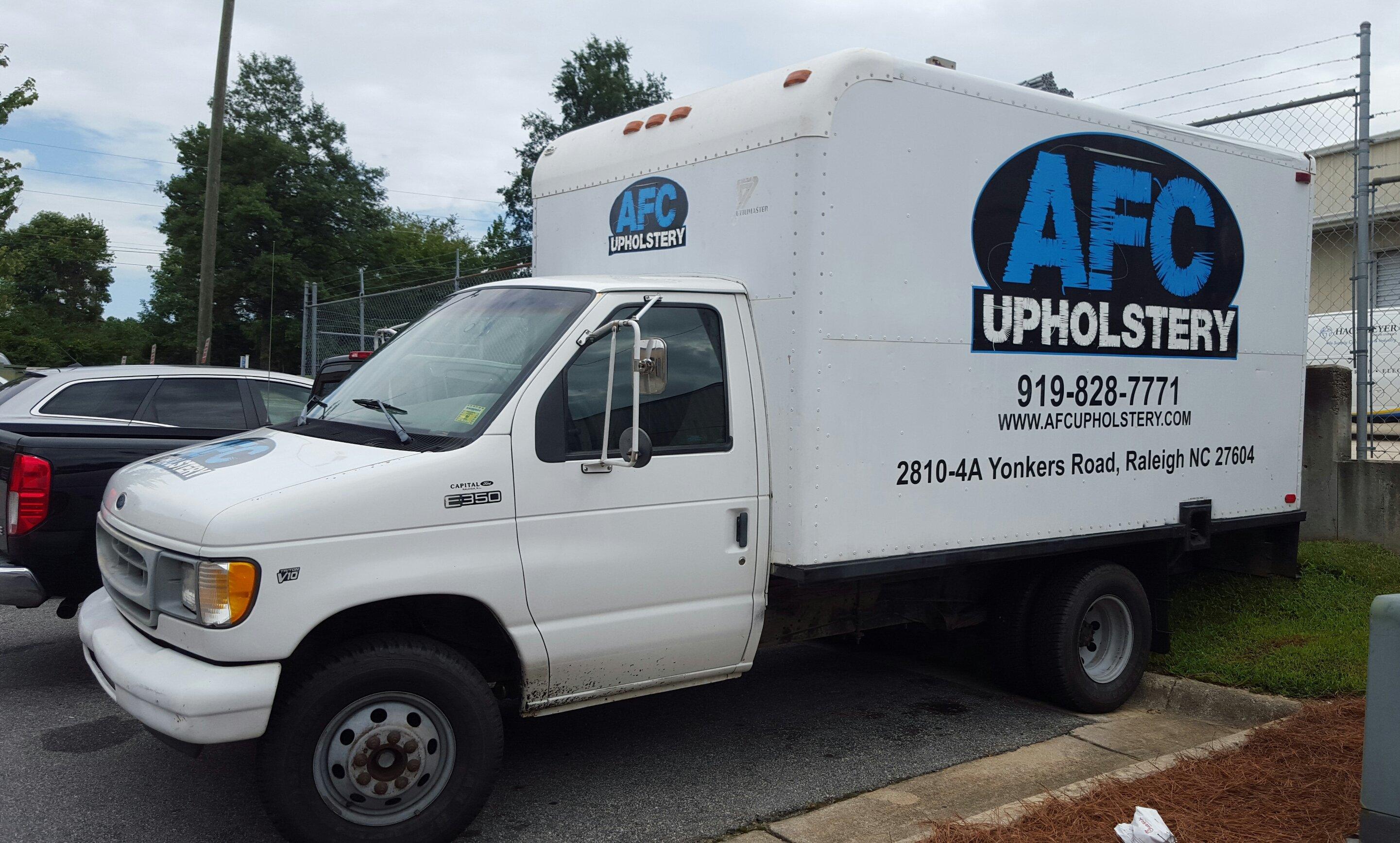 upholstery repair Cary, NC
