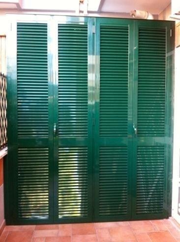 Armadio in alluminio per esterno