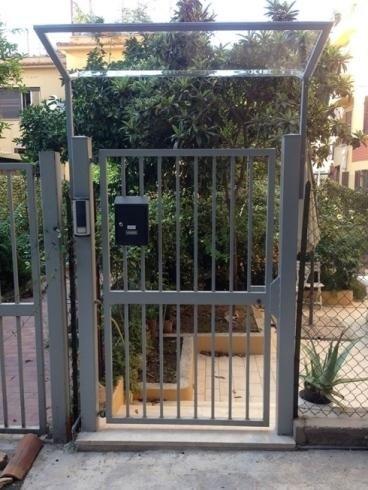 Cancello esterno in ferro