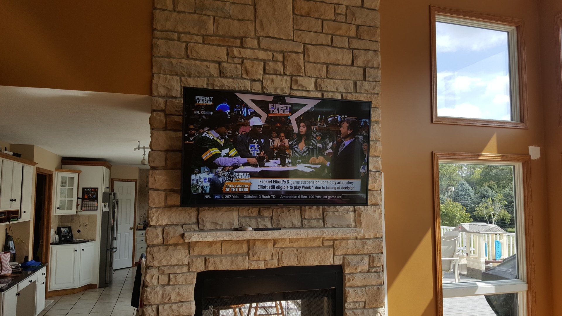 Tv Wall Mounting Amp Tv Fireplace Installation Amp Setup