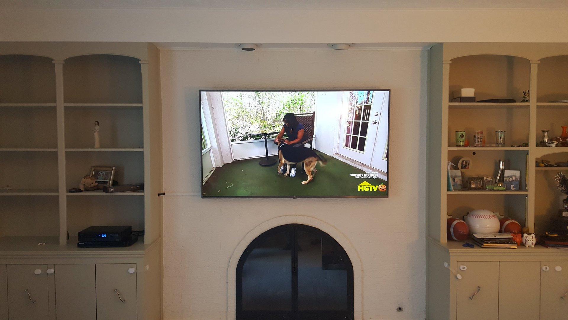 Tv Wall Mounting Amp Tv Fireplace Installation Amp Setup