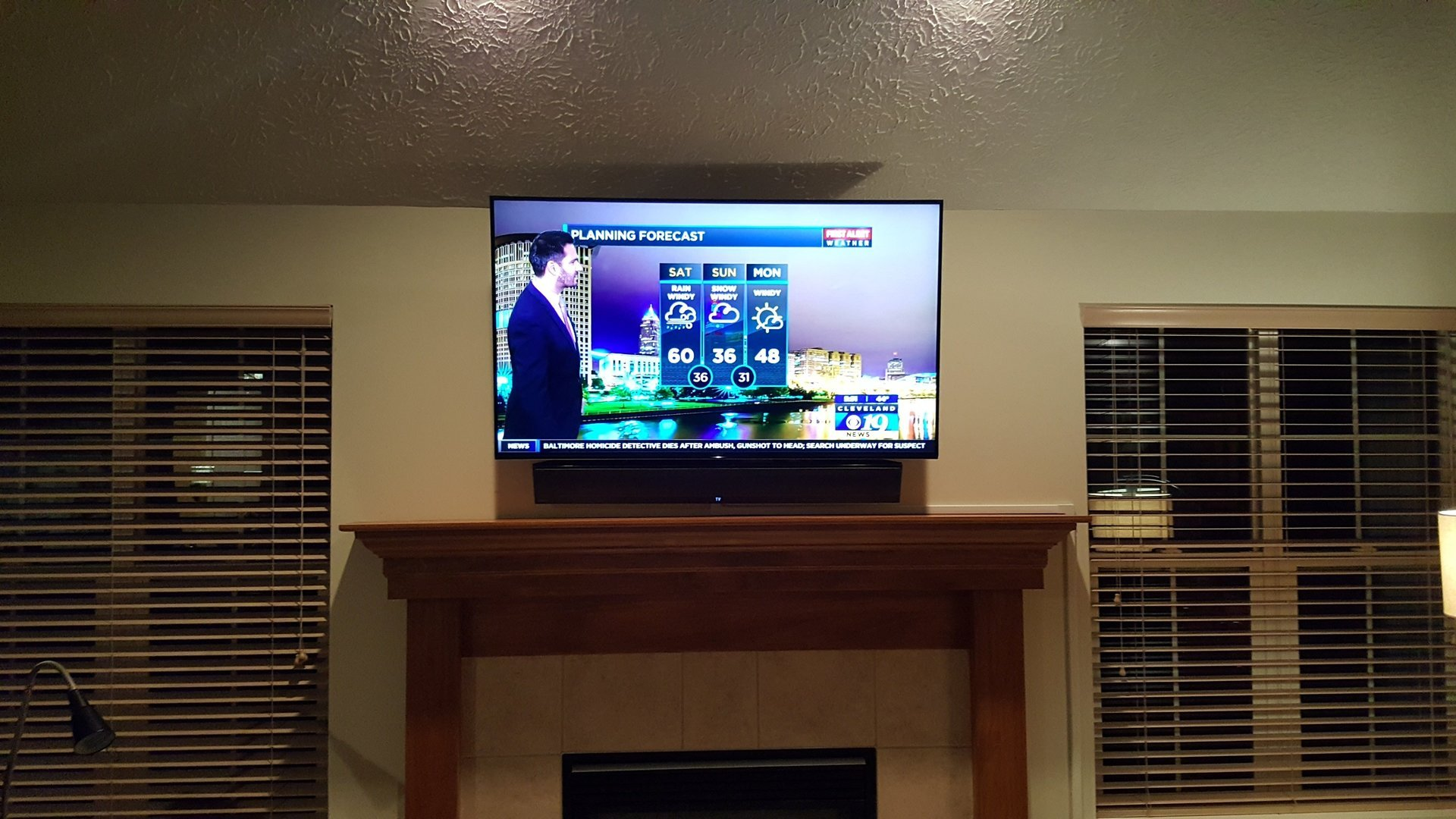 Hiding Cable Box For Wall Mounted Tv Behind