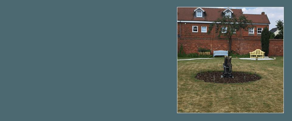 Willow House garden