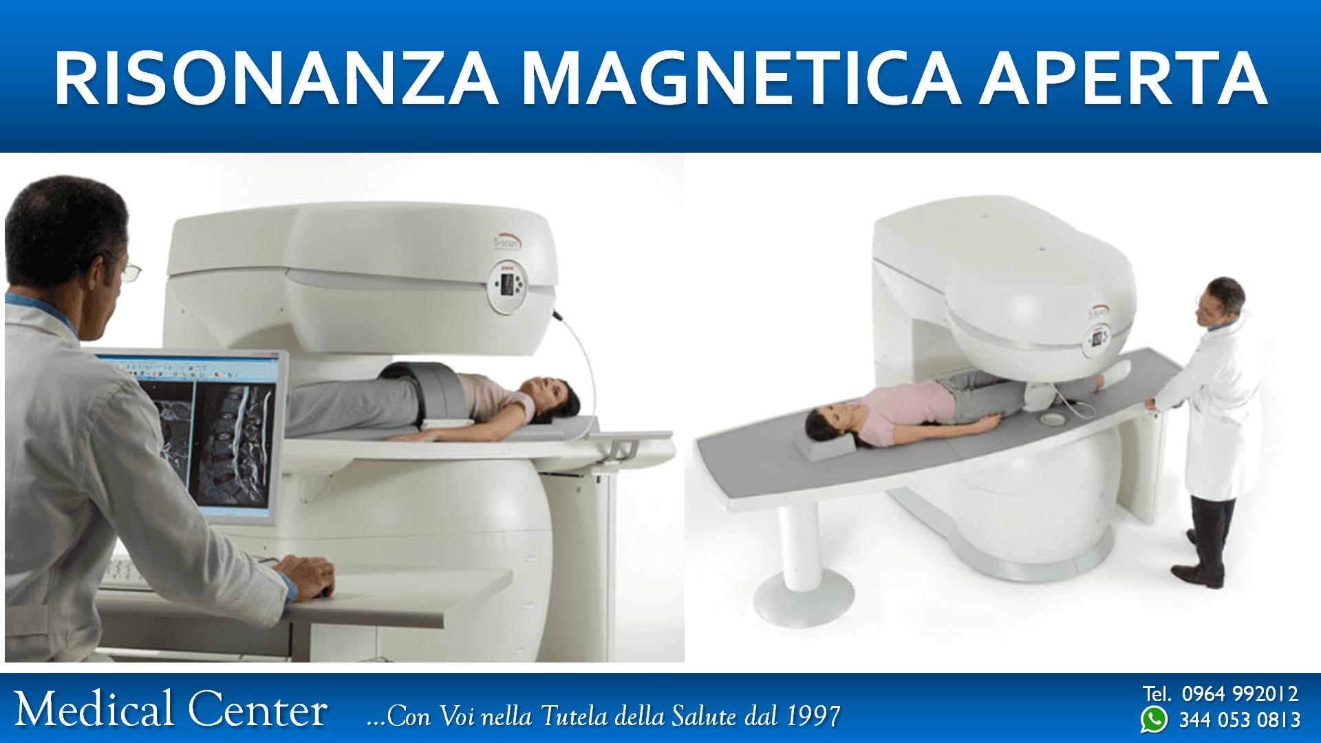 madico esegue risonanza magnetica a paziente distesa su macchinario