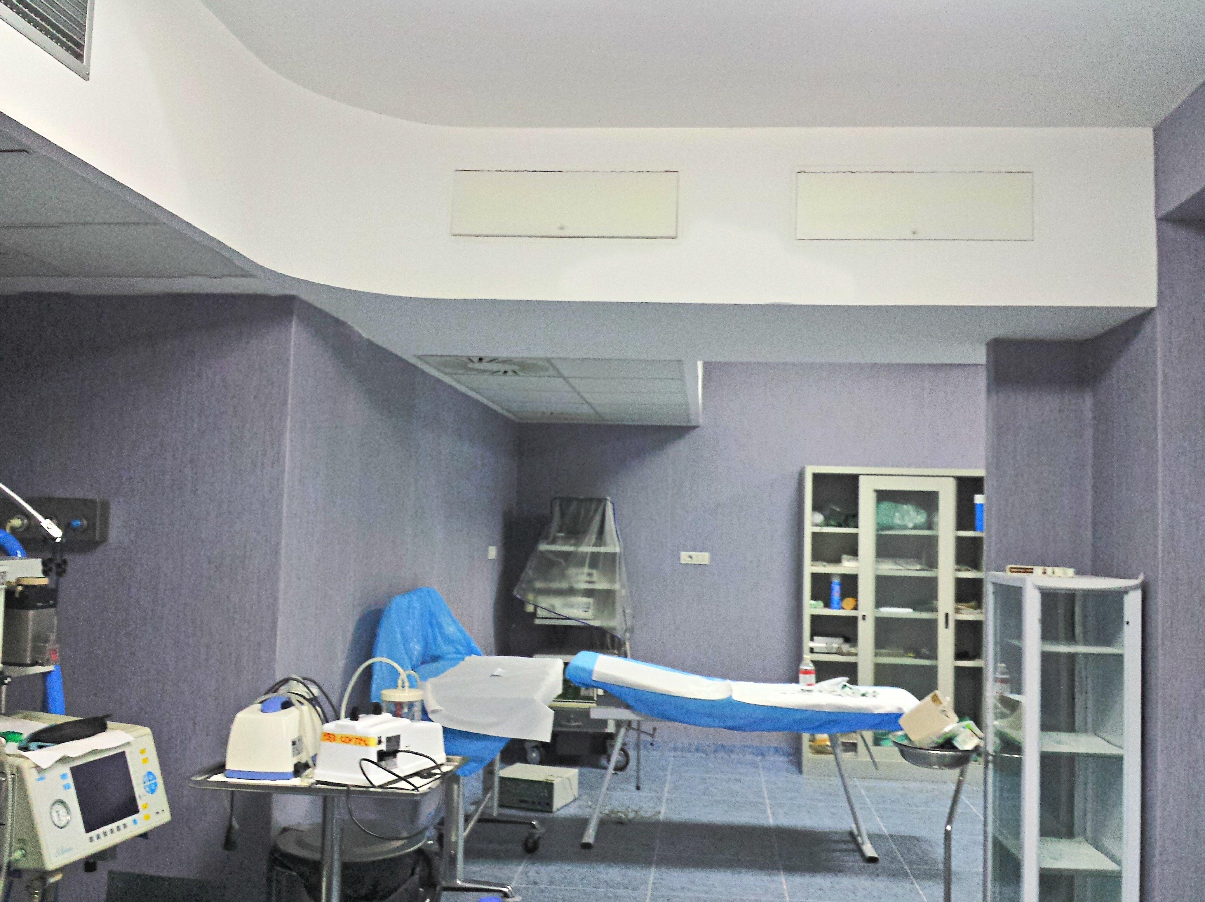 Sala per visite mediche