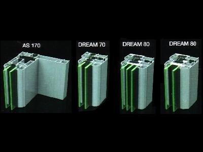 Profili in alluminio Vetreria S. Croce