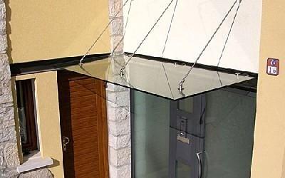 Copertura in vetro Vetreria S. Croce