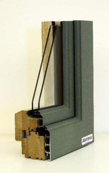 copertura serramenti in legno alluminio