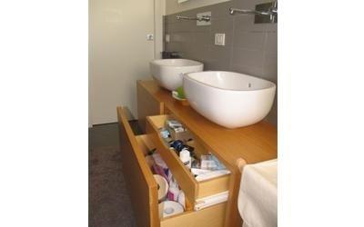 mobile bagno su misura in legno