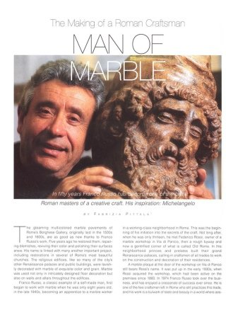man of the marble