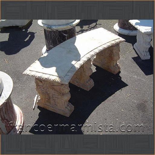 Panchine In Marmo Da Giardino.Panchine Da Giardino In Marmo Roma Galleria D Arte Essere Avere
