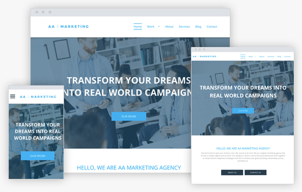 Click to open Marketing Agency