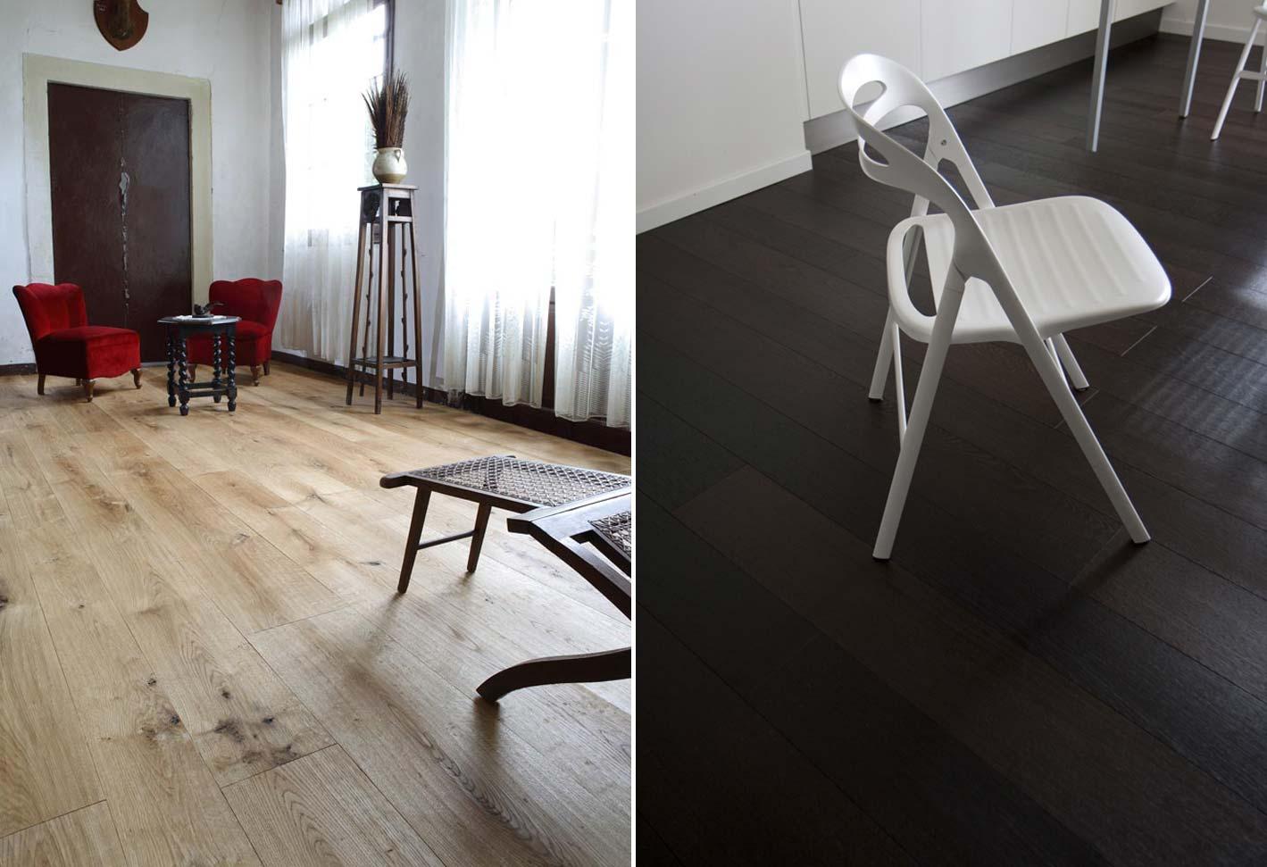 pavimenti in legno con mobili