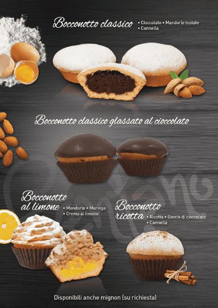 Bocconotto Classico, Bocconotto cioccolato, bocconotto ricotta