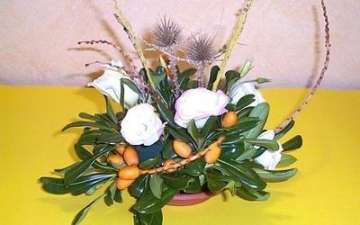 composizioni naturali fiori