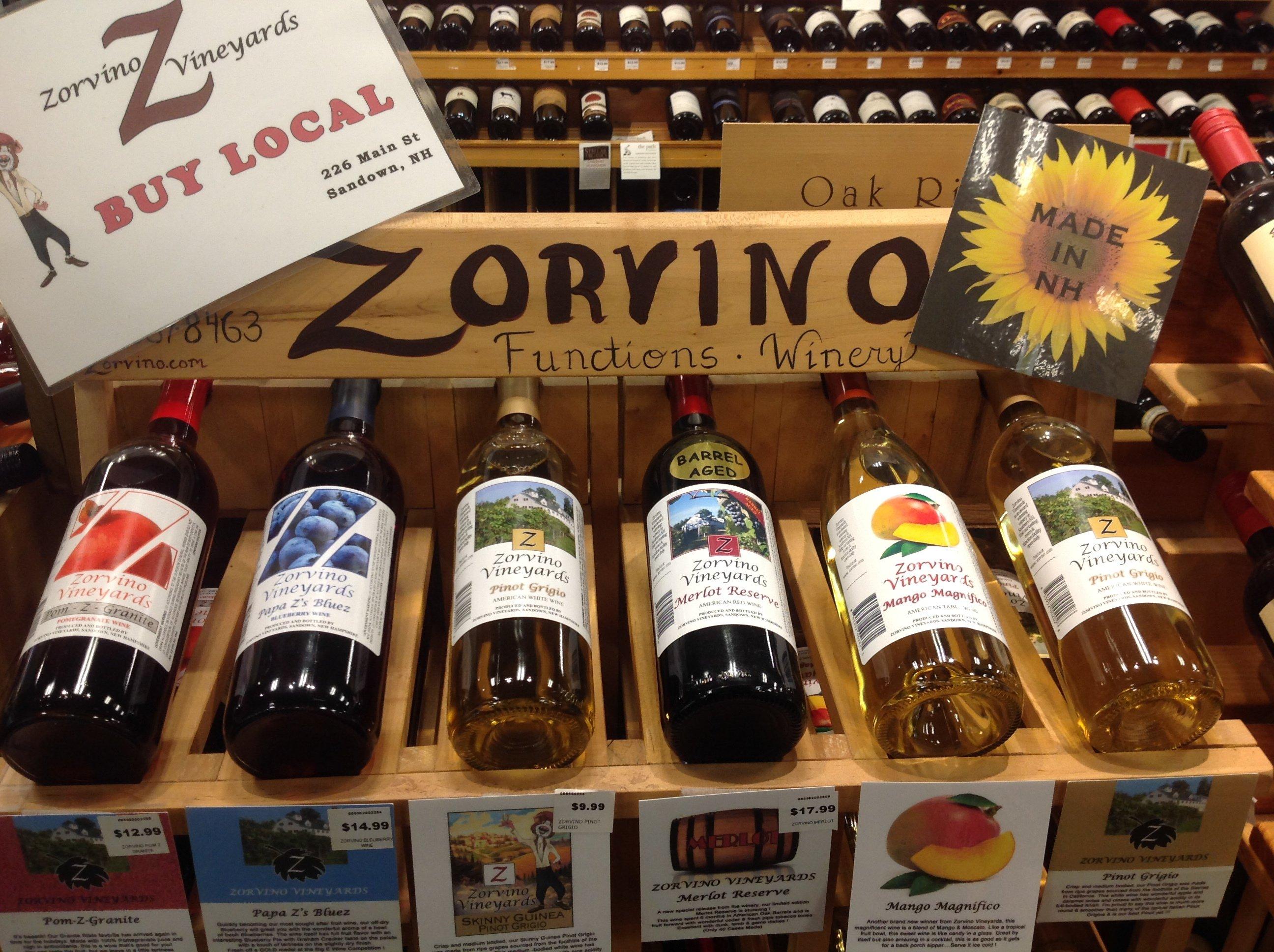 Zorvino Wines